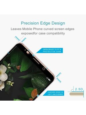 Huawei Mate 10 Pro 9H Surface Hardness 2.5D Curved Edge HD Explosion-proof Tempered Glass Screen Protector (Black)