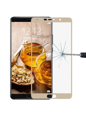 Huawei Mate 10 9H Surface Hardness 2.5D Curved Edge HD Explosion-proof Tempered Glass Screen Protector (Gold)