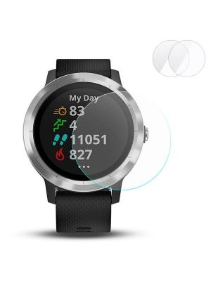 Intelligent Wearable Device, 2 PCS ENKAY Hat-Prince for Garmin vivoactive 3 Smart Watch 0.2mm 9H Surface Hardness 2.15D Explosion-proof Tempered Glass Screen Film