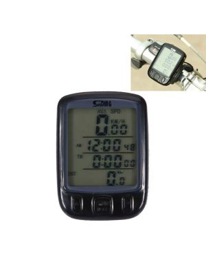 SunDing SD - 563A Multifunction Wired LCD Screen Green Backlight Mode Waterproof Bicycle Computer Odometer Speedometer