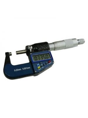 25mm (1 inch) Electronic Digital Micrometer (resolution 0.001mm)