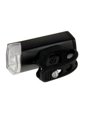 RAYPAL RPL-2255 300 Lumens USB Rechargeable LED Bike Headlight with Handlebar Mount(Black)