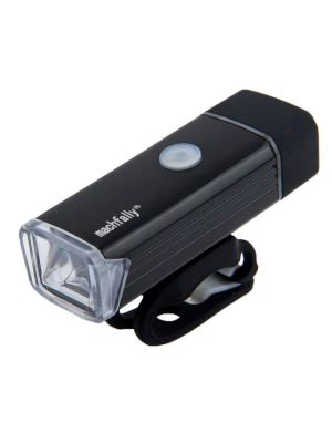 MC-QD001 180 Lumens USB Rechargeable LED Bright Aluminum Light with Handlebar Mount(Black)