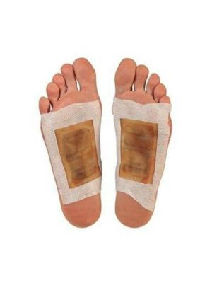 50 PCS Tradition Chinese Detox Wormwood Foot Patch Bamboo Vineger Pad Improve Sleep Patches Beauty Patch