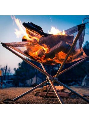 Stainless Steel Portable Outdoor Foldable Barbecue Tool Barbecue Pits, Ultra-light Grid Stove