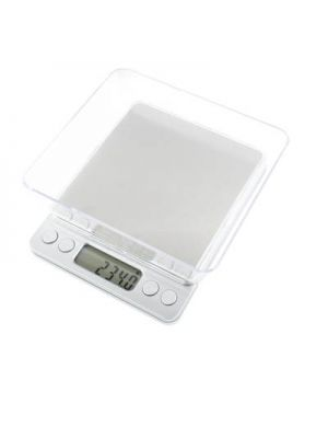 2000g x 0.1g Digital Electronic Balance Weight Scale(Silver)