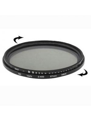 67mm ND Fader Neutral Density Adjustable Variable Filter ND 2 to ND 400 Filter