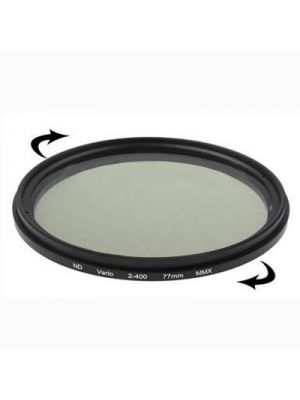 77mm ND Fader Neutral Density Adjustable Variable Filter ND 2 to ND 400 Filter